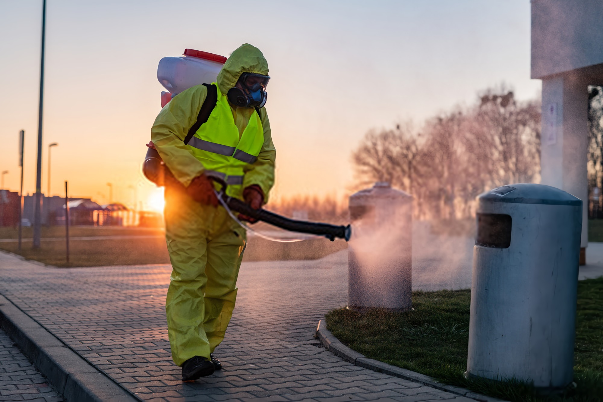 ¿Cuáles son los tipos de fumigaciones industriales?