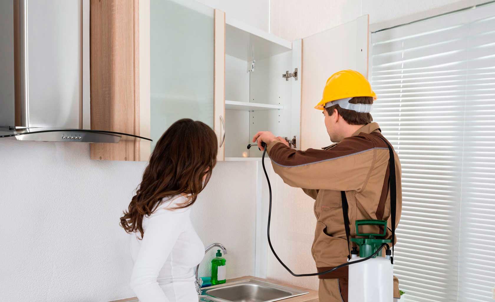 Cómo limpiar la casa después de fumigar chinches